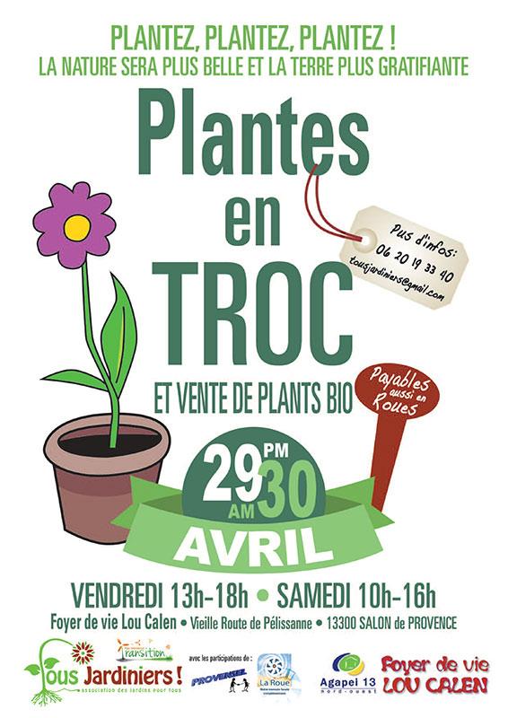 Foyer Lou Calen Salon De Provence : Les plantes en troc solutions compost
